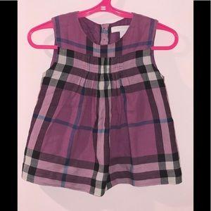 3Y purple Burberry shirt